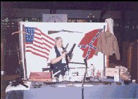 Belinda shares their museum-quality civil war display.