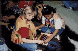 Hands-on activities leave a lasting impression on a child